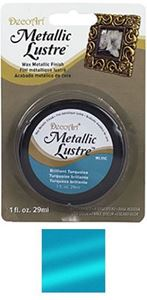 DecoArt Metallic Lustre - Brilliant Turquoise - ML11C