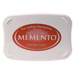 Tsukineko Memento Dye Ink - Potter's Clay - ME-801