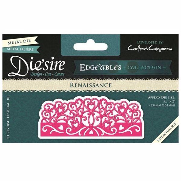 Renaissance Diesire Edgeables - Die Standsejern fra Crafters Companion - DE-EDG-REN