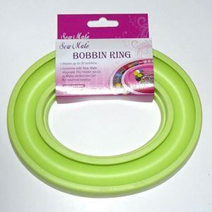 Spolering - Bobbin Ring fra Sew Mate til opbevaring af symaskine spoler - DW-BB30 Æblegrøn