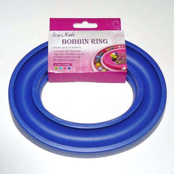 Spolering - Bobbin Ring fra Sew Mate til opbevaring af symaskine spoler - DW-BB30 Blå