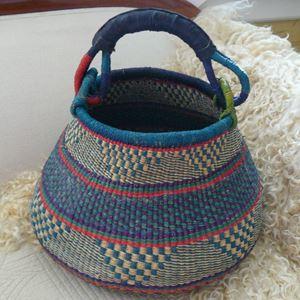 Hammershus Fairtrade Pot Basket af elefantgræs