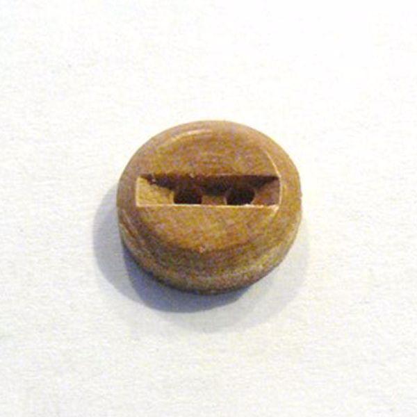 Rund falset træknap - 15 mm