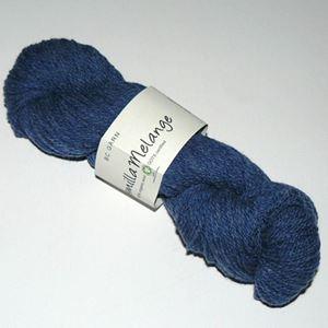 GOTS Certificeret økologisk uldgarn fra BC Garn - Semilla Melange - Blå sm10