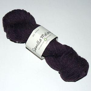 GOTS Certificeret økologisk uldgarn fra BC Garn - Semilla Melange - Violet sm14