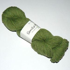 GOTS Certificeret økologisk uldgarn fra BC Garn - Semilla Melange - Græsgrøn sm17