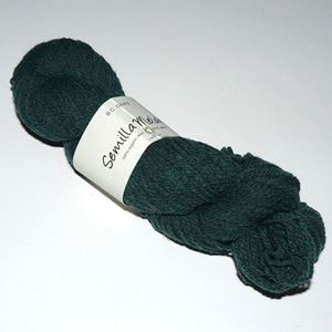 GOTS Certificeret økologisk uldgarn fra BC Garn - Semilla Melange - Flaskegrøn sm18