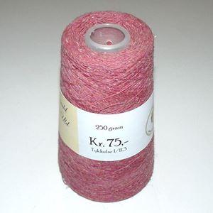 960 gram Nistret Uld til håndstrik, maskinstrik eller vævning - Gammelrosa