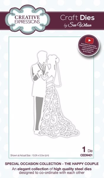 Special Occasion Collection - The Happy Couple - CED9401 fra Creative Expression