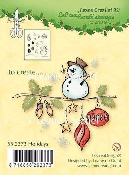 Snemand og julepynt fra Leane Crealief - 55,2373