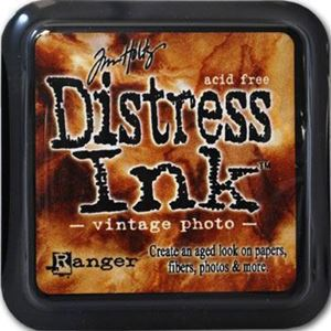 Stempelpude Distress Ink fra Tim Holtz, Ranger til stempler - Vintage Photo