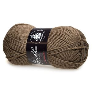 Mayfloer Alpakka 4-trådet strikkegarn - Brun 04