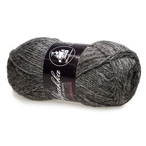 Mayfloer Alpakka 4-trådet strikkegarn - Mørkegrå 07