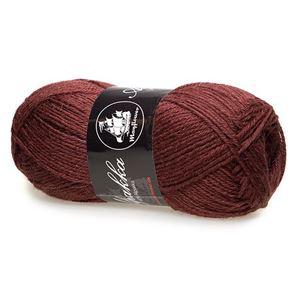 Mayfloer Alpakka 4-trådet strikkegarn - Rødbrun 21