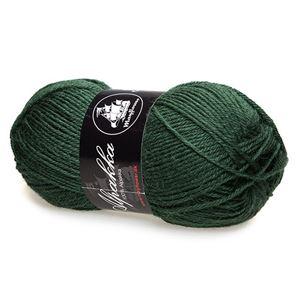 Mayfloer Alpakka 4-trådet strikkegarn - Flaskegrøn 11