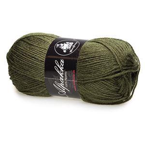 Mayfloer Alpakka 4-trådet strikkegarn - Jægergrøn 12