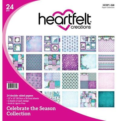 Celebrate the Season Collection fra Heartfelt Creations  HCDP1-268