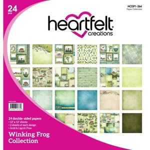 Winking Frog Collection fra Heartfelt Creations - HCDP1-264