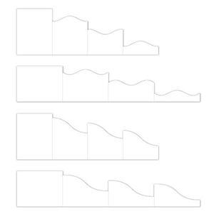 Folde kort, Foldout Cards fra Heartfelt Creations - HCCF1-443-2