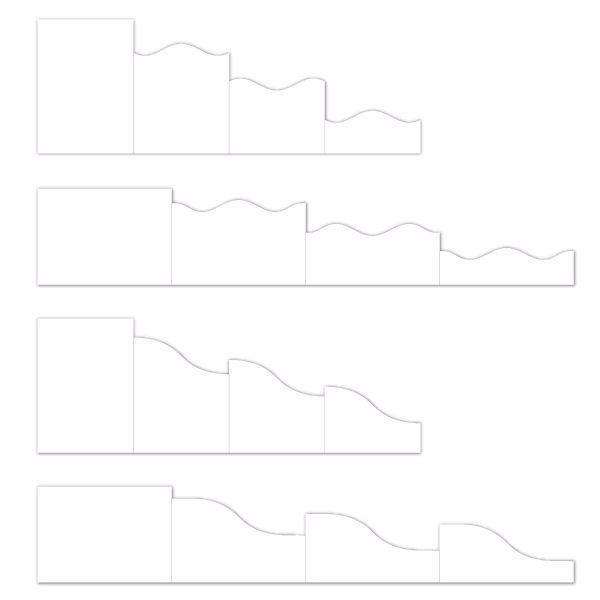Folde kort, Foldout Cards fra Heartfelt Creations - HCCF1-444-2