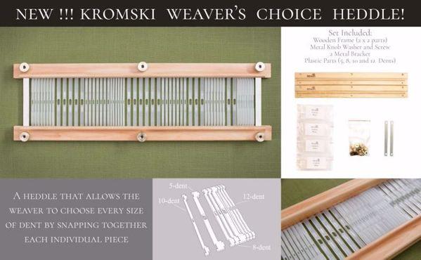 Weavers choice vævekam fra Kromski, til Harpe Forte