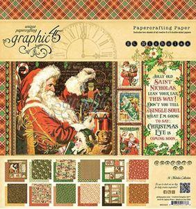 Papir blok 12x12 fra Graphic 45 - St. Nicholas