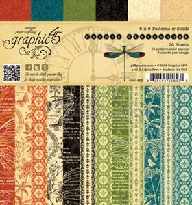 Papir blok 6x6 fra Graphic 45 - Nature Sketchbook