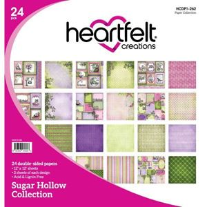 Sugar Hollow Collection - Designblok fra Heartfelt Creations