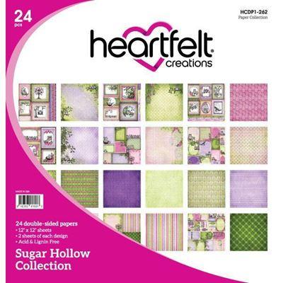 Sugar Hollow Collection - Designblok fra Heartfelt Creations