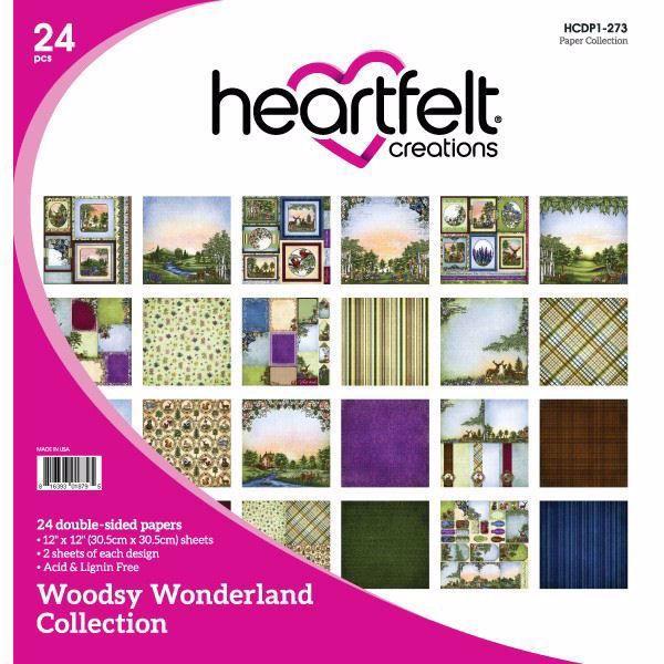 Woodsy Wonderland Collection - Designblok fra Heartfelt Creations
