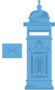 Marianne Design Postkasse og brev dies standsejern til scrapbooking og kort - LR0275