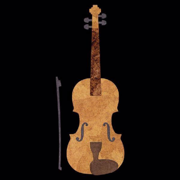 Cheery Lynn Designs Violin - C179 standsejern