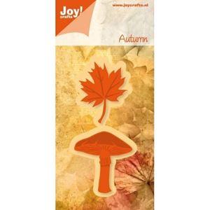 Blad og svamp 6002/0333 dies standsejern til scrapbooking og kort fra Joy Crafts