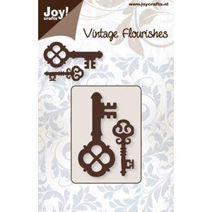 Nøgler 6003/0040 dies standsejern til scrapbooking og kort fra Joy Crafts