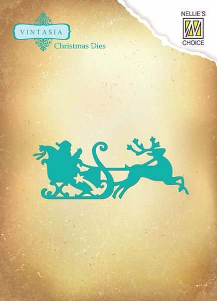 Nellie's Christmas Die fra Nellie Snellen - julemandens kane dies standsejern - VIND046