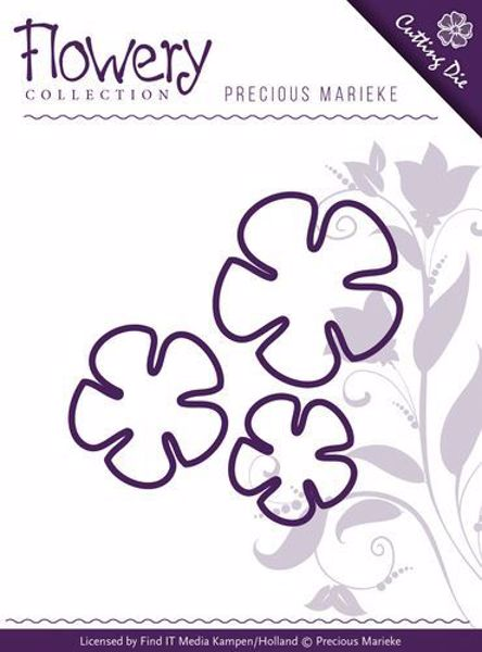 Precious Marieke Buttercup Trio - PM10064 blomster standsejern til scrapbooking