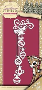 Yvonne Creations Traditional Christmas, Julepynt - YCD10054 standsejern til scrapbooking
