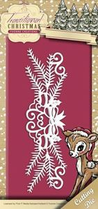 Yvonne Creations Traditional Christmas, Juledekoration - YCD10055 standsejern til scrapbooking
