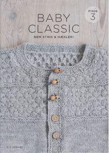 Baby Classic - Nem strik  & Hækleri - 8 nemme og søde vintage opskrifter til pind 3 mm