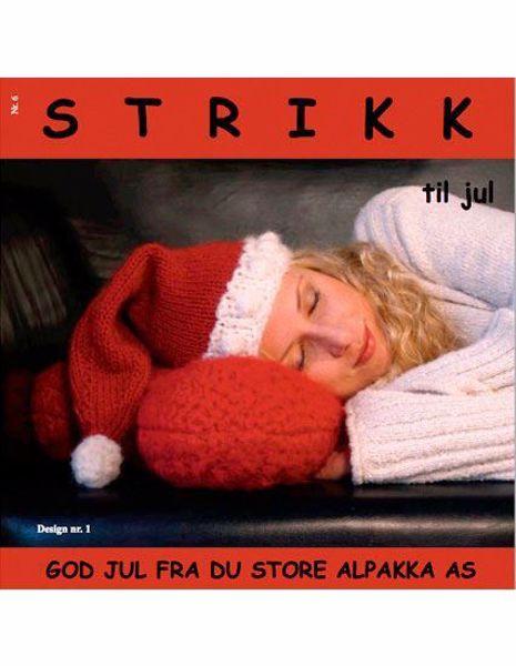 Strikk til jul fra Du Store Alpakka paperback opskriftbog