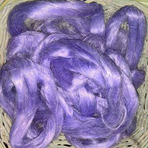 Skættet hør rowing til spinding - Lavendel
