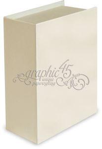 Bogboks med tags og bogring fra Graphic 45