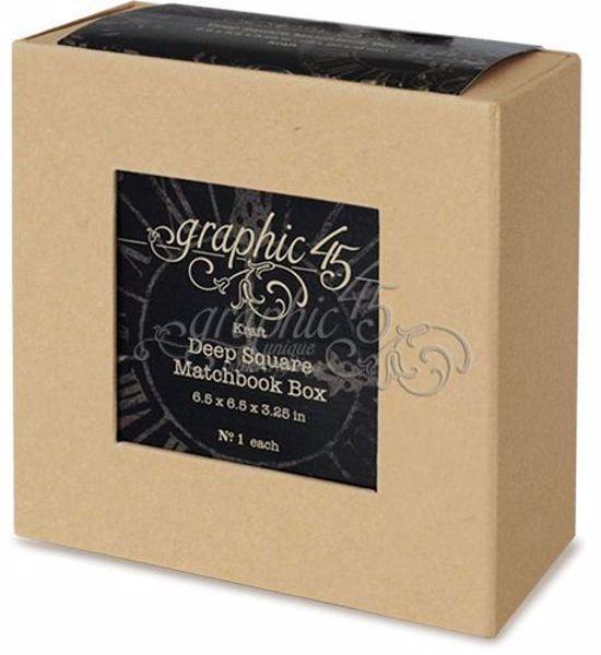 Skuffeboks, matchbook box fra Graphic 45
