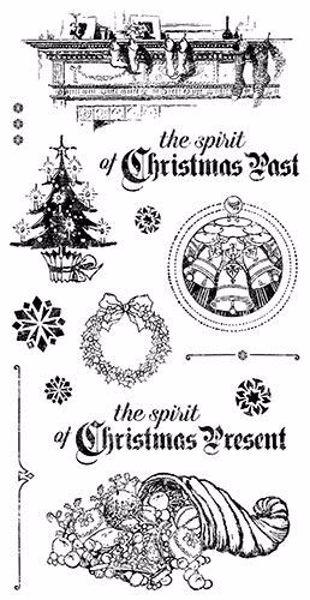 Gummi stempel fra Graphic 45 - Christmas Carol
