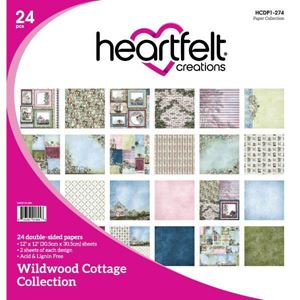 Wildwood Cottage Collection - Designblok fra Heartfelt Creations