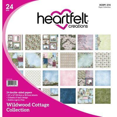 Wildwood Cottage Collection - Designblok fra Heartfelt Creations