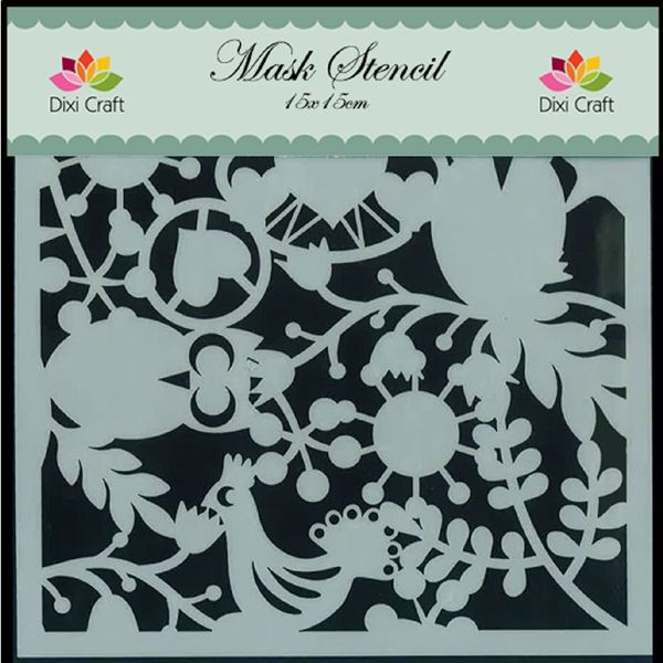mask, stencil fra Dixi Craft - MD001