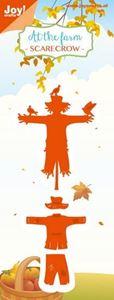 Fugleskræmsel, Scarecrow 6002/0798 dies standsejern til scrapbooking og kort fra Joy Crafts