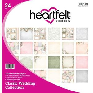 Classic Wedding Collection - Designblok fra Heartfelt Creations - HCDP1-279