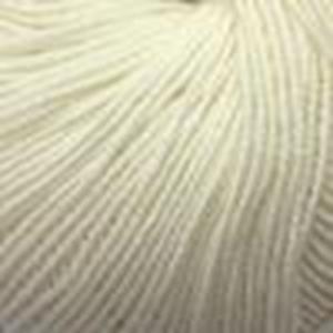 Ekstra fin Merino garn - Dolly Baby fra Laines Du Nord - Naturhvid